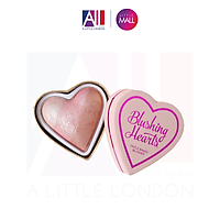 Phấn má Makeup Revolution I heart makeup blushes - Peachy Pink kisses (Bill Anh)