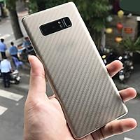 Dán mặt sau lưng carbon cho Samsung Note 8