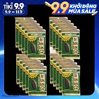 Combo 20 gói hạt hướng dương Chacheer Nhập Khẩu tẩm vị 40g/gói