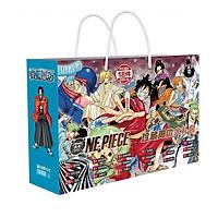 Túi quà hình chữ nhật anime One Piece WANO quốc Đảo hải tặc tặng ảnh VCone