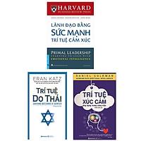 Combo (3 Cuốn): Trí Tuệ Xúc Cảm Ứng Dụng Trong Công Việc (Tái Bản) + Lãnh Đạo Bằng Sức Mạnh Trí Tuệ Cảm Xúc + Trí Tuệ Do Thái (Tái Bản)