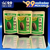 Hạt hướng dương Chacheer vị Dừa-130g/gói ( Lốc 3 gói )