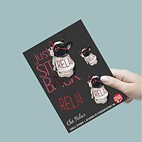 Chó Relax - Single Sticker hình dán lẻ