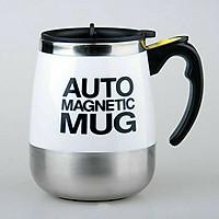 Cốc tự khuấy Auto Magnetic Mug 450ml (Giao màu ngẫu nhiên) - Tặng kèm đèn pin bóp tay mini