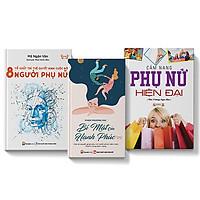 COMBO 3 cuốn Cẩm nang phụ nữ hiện đại + Bí mật của hạnh phúc + 8 tố chất trí tuệ quyết định cuộc đời người phụ nữ