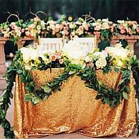 Khăn Trải Bàn Trang Trí Tiệc Cưới 120cm