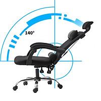 Ghế xoay văn phòng - gaming thiết kế hiện đại nghiêng góc 155 độ ( tặng gối )