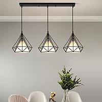Bộ đèn thả DIAMON treo trần - kèm bóng LED và đế ốp trần