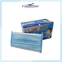 Khẩu trang y tế kháng khuẩn 4 lớp Famapro (50 cái/ hộp)