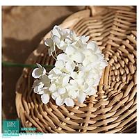 Hoa Giả Hoa Lụa - HOA CẨM TÚ CẦU MINI Loại 1 Giống Thật - 26cm