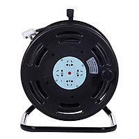 Breeze (kyfen) QF-C6 engineering reel converter socket mobile cable tray wiring board leakage protection wire diameter 2.5 square high power 50 meters