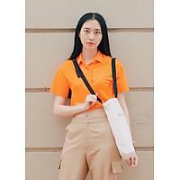 Túi Tote Vải Ginko Unisex Phong Cách Hàn Quốc Dây Chéo (Nhiều Màu) K05 - Tặng 1 Cupholder