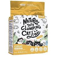 Cát Vệ Sinh Hữu Cơ Bã Đậu Nành Cho Mèo Natural Tufu Clumping Cat Litter 6L nặng 2,5kg công nghệ Hàn Quốc