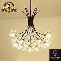 Đèn chùm pha lê phong cách Châu Âu trang trí nội thất phòng khách,phòng ngủ sang trọng hiện đại mã 9320/19