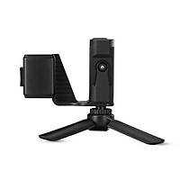 Handheld Phone Holder Mobile Phone Clip Bracket With Cold Shoe Mini Tripod Stand Expansion Accessories For Dji Osmo - Black