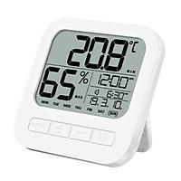 Nhiệt ẩm kế điện tử đo nhiệt độ và độ ẩm phòng ngủ 4 trọng 1 model : AK01