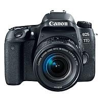 Máy Ảnh Canon EOS 77D + 18-55mm f/3.5 - f/5.6 IS STM (Đen) - Hàng Nhập Khẩu