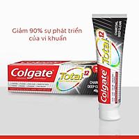 Bộ 3 Kem đánh răng Colgate giảm chảy máu nướu Total than hoạt tính bảo vệ toàn diện 190g/tuýp