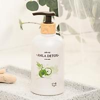 Dầu xả tóc suôn mềm hữu cơ AMLA DETOX LACO – Nuôi dưỡng tóc giúp tóc suôn mềm, óng mượt