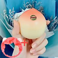 Kem Đào Hồng Phấn Zenpali Giúp Dưỡng Da, Trắng Hồng Beauty Whitening Peach Cream, Tặng Kèm Băng Đô Thời Trang