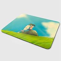 Miếng lót chuột mẫu Anime Hôn Trên Đồi (20x24 cm) - Hàng Chính Hãng