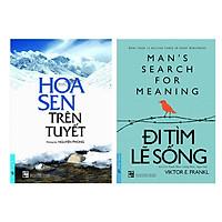 Combo Hoa Sen Trên Tuyết + Đi Tìm Lẽ Sống (2 cuốn)