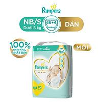 Tã Dán Pampers Nội Địa Nhật Bản NB70/S64/M52/L42