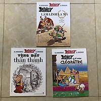 Combo 03 cuốn Asterix: Asterix và nữ hoàng Cleopatre, Vùng đất thần thánh, Asterix làm lính La mã