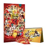 Gala Nhạc Việt 13: Vui như Tết (Bộ 2 DVD) + tặng kèm bộ lịch để bàn Việt Nam tươi đẹp và 5 bao lì xì Gala nhạc Việt Tết.