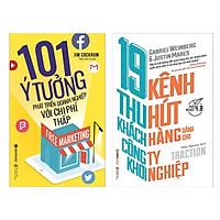 Combo Sách Marketing - Bán Hàng : Free Marketing 100 Ý Tưởng Phát Triển Doanh Nghiệp Với Tiêu Chí Thấp + 19 Kênh Thu Hút Khách Hàng Công Ty Khởi Nghiệp ( Combo Sách Tạo Dựng Doanh Nghiệp Hùng Mạnh / Tặng Kèm Bookmark Green Life )