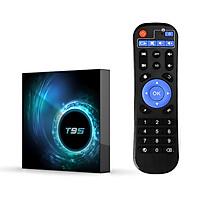 T95 Android 10.0 Smart TV Box Allwinner H616 Quad-core 64 Bit 4K Media Player 6K HDR H.265 VP9 4GB / 128GB 2.4G & 5G