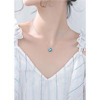 Dây Chuyền Bạc Nữ S925 Đính Đá DB2477 Bảo Ngọc Jewelry