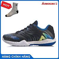 Giày cầu lông Lining AYAR003-3 chính hãng dành cho nam, đế đàn hồi siêu bền - Tặng tất thể thao Bendu