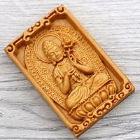 Mặt Phật gỗ hoàng đàn - Đại Thế Chí bồ tát - tuổi Ngọ