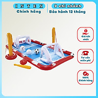 bể bơi  Sân chơi đa năng bơm hơi cho bé INTEX 57147