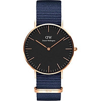 Daniel Wellington Classic Bayswater Rose Black 36mm DW00100281