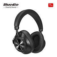 Bluedio T7 Plus Bluetooth Headphones ANC Active Noise Cancelling Wireless Headset for Phones Support Memory Card Step
