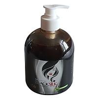 Dầu gội thảo dược Blacksilk - Kích mọc tóc, tái tạo nang tóc đen, giảm gãy rụng tóc, nuôi dưỡng tóc từ gốc. Chai 500ml