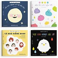 Sách Ehon Nhật Bản- Bộ sách Màu Sắc Quanh Ta cho bé từ 3-6 tuổi phát triển khả năng ghi nhớ và nhận biết màu sắc