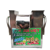 Máy ép nước mía siêu sạch mini để bàn ép 1 lần kiệt bã F1-750 An Việt - Chính hãng