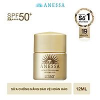 Kem chống nắng dưỡng da dạng sữa bảo vệ hoàn hảo Anessa Perfect UV Sunscreen Skincare Milk SPF 50+ PA++++ 12ml