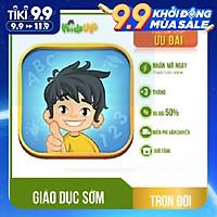 [E-Voucher]-KidsUP - Montessori online - Gói học 1 NĂM & Gói TRỌN ĐỜI