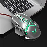 Chuột cơ gaming led RGB 3200DPI - X400S Gray mechanical Gaming mouse 11 Key hàng nhập khẩu