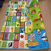Thảm nằm chơi maboshi hai mặt cho bé