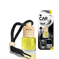 Tinh dầu treo ô tô Aroma Car Wood 6ml - Black (mạnh mẽ)