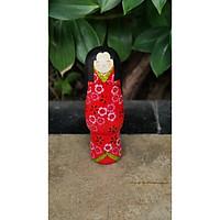 Búp bê Kokeshi, búp bê gỗ handmade Nhật Bản, món quà lưu niệm từ Nhật Bản