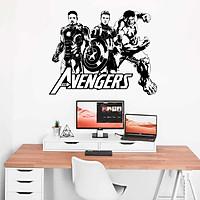 Decal Trang Trí Phòng Làm Việc, Decal Trang Trí Phòng Ngủ, Decal Trang Trí Phòng Khách | Decal Chủ Đề Avengers