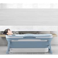 ( Size to nhất )Bồn tắm silicon gấp gọn dùng được cả người lớn -1,43m - Không kèm nắp
