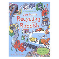 Usborne See Inside Recycling and Rubbish