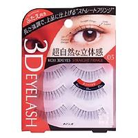 Lông mi giả Koji 3D Eyes 05 Straight Fringe (cho mắt 2 mí)